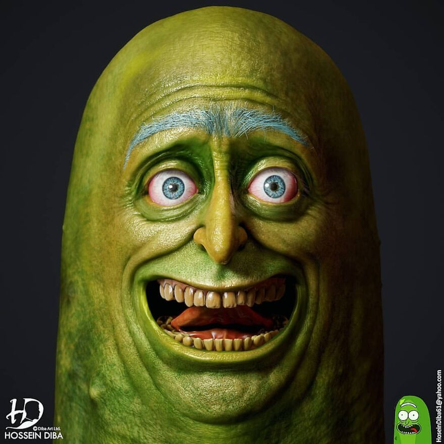 Pickle Rick From Rick And Morty