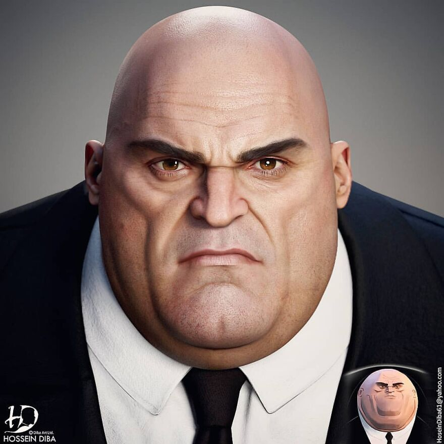 The Kingpin (Wilson Grant Fisk) From Spider-Man