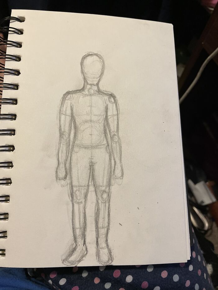 Learning How To Draw Again After Being Away From It For Ten Years.