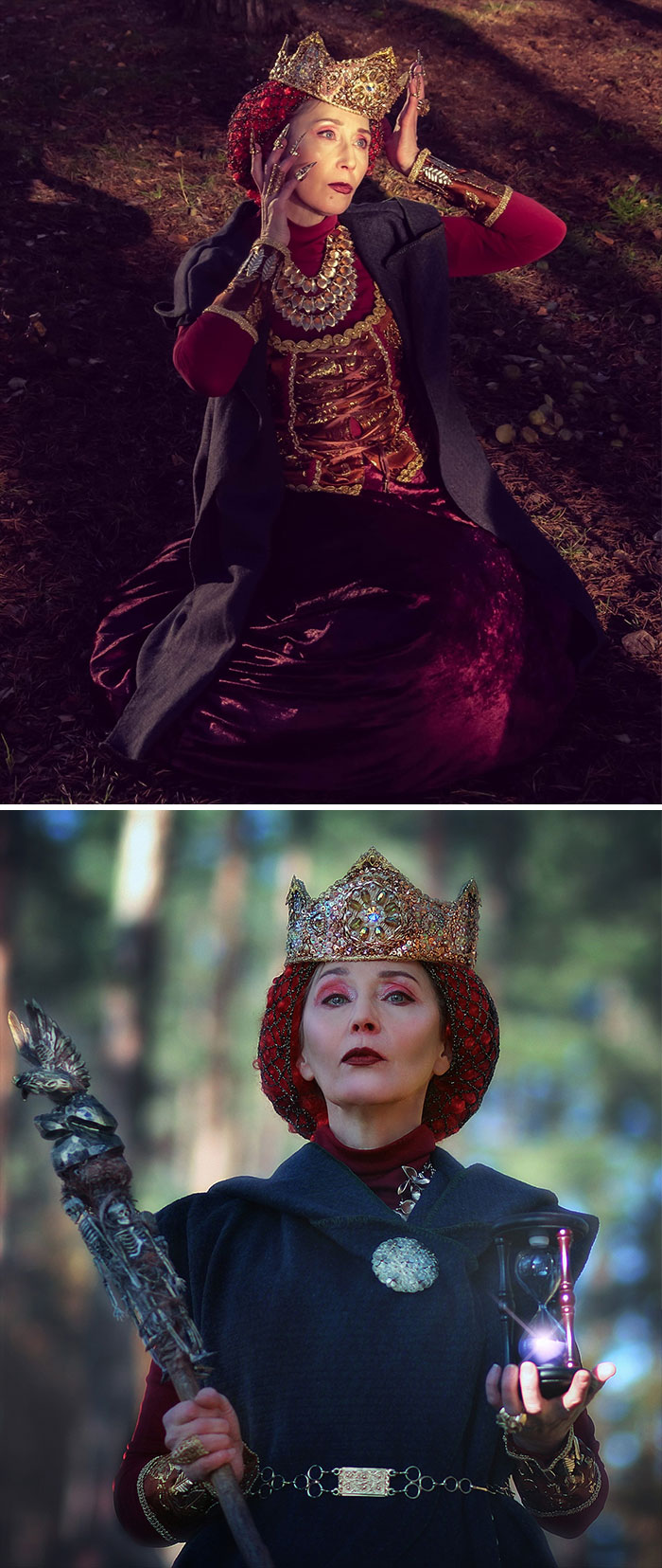 Russian Grandma Makes Amazing Cosplays With Materials Found In Flea Markets And Second Hand Stores