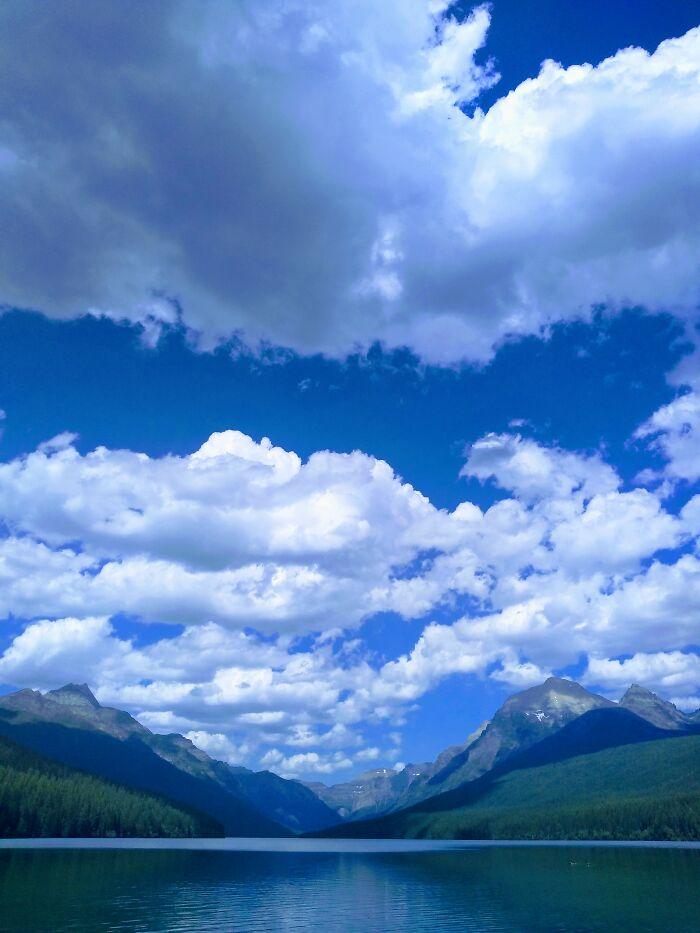 A Beautiful Lake In Montana