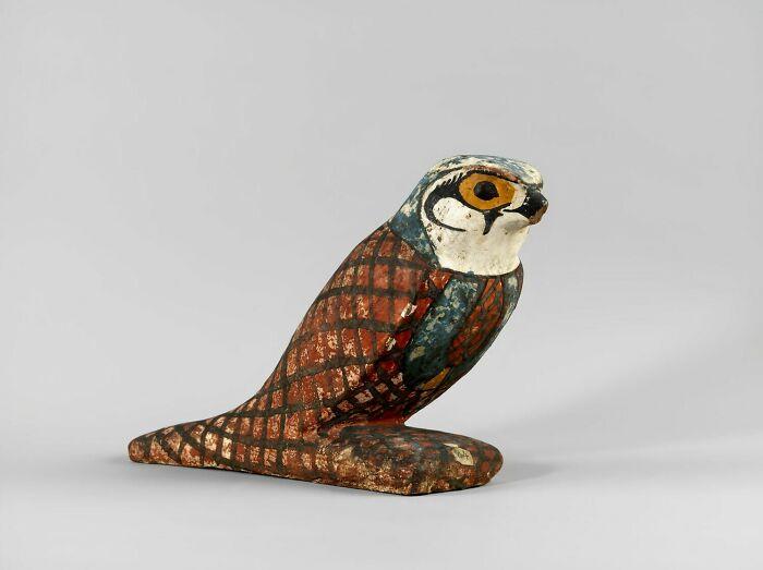 Akhem Bird Figurine; Statue Of Ptah-Sokar-Osiris, Basse Epoque (Attribution According To Style) (-664 - -332)
