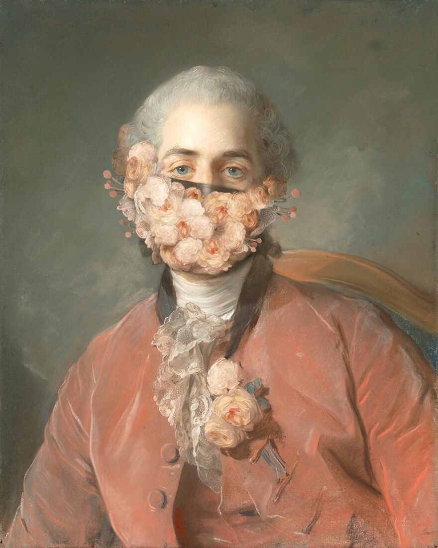 Masked Portraits Of A German Painter Is Now The Sensation Of Instagram