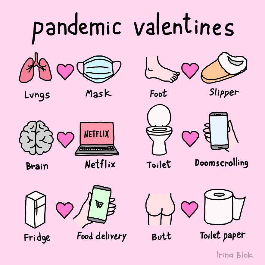 Pandemic Valentines