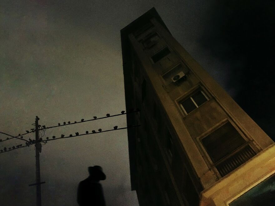 The Darkness/ Noir, 1st Place: Late Night By George Koutsouvelis