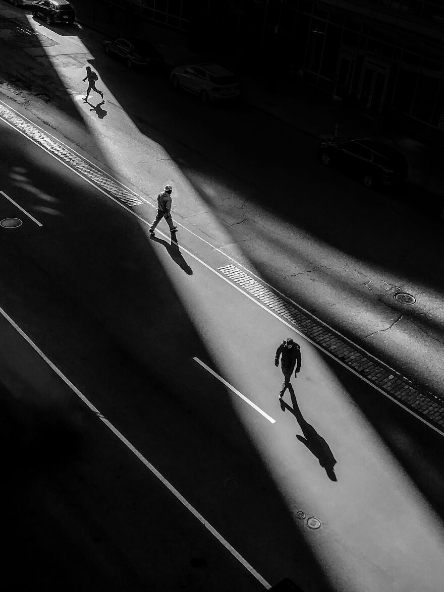 Street Photography, 1st Place: Stuart Street, Boston By Jeff Larason