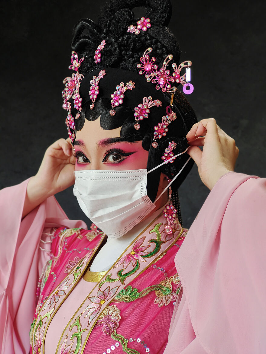 Eyes Of The World, 1st Place: Cantonese Opera By Queenie Cheen