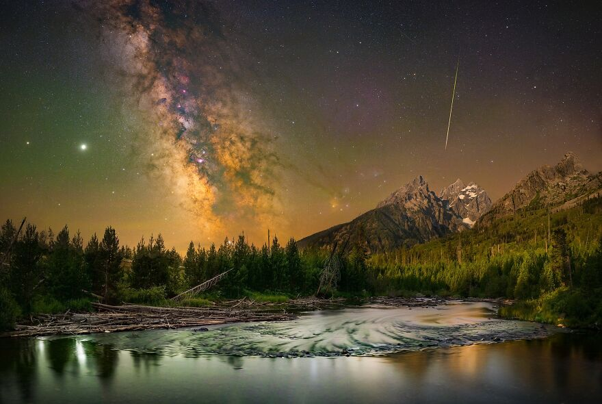 The Starlit Grand Tetons