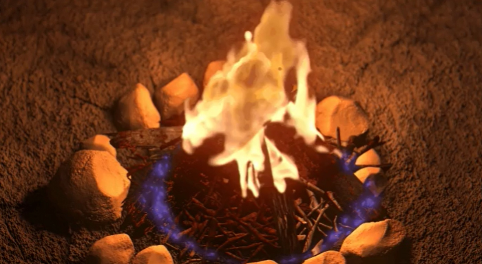 In The Incredibles, Violet Struggles To Generate A Force Field Around A Campfire. The Fire Flickers When Deprived Of Oxygen