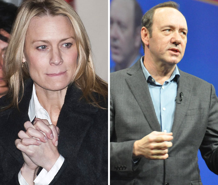 Robin Wright Had To Negotiate Her Pay In House Of Cards When Kevin Spacey Was One Of The Highest-Paid Actors On TV