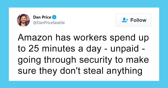 Guy Lists 40 Ways In Which Amazon Exploits Its Employees And It's Terrifying