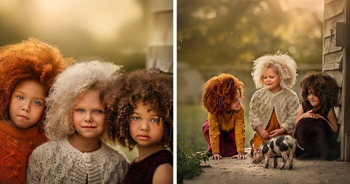 I Photograph Kids With Unique And Beautiful Hair