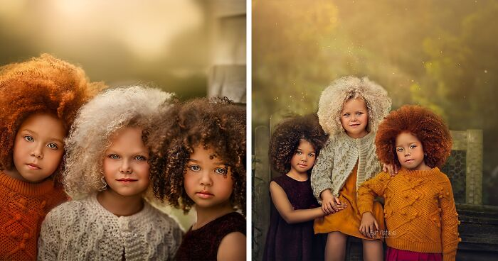I Captured The Unique Beauty Of Kids With Unusual Hair
