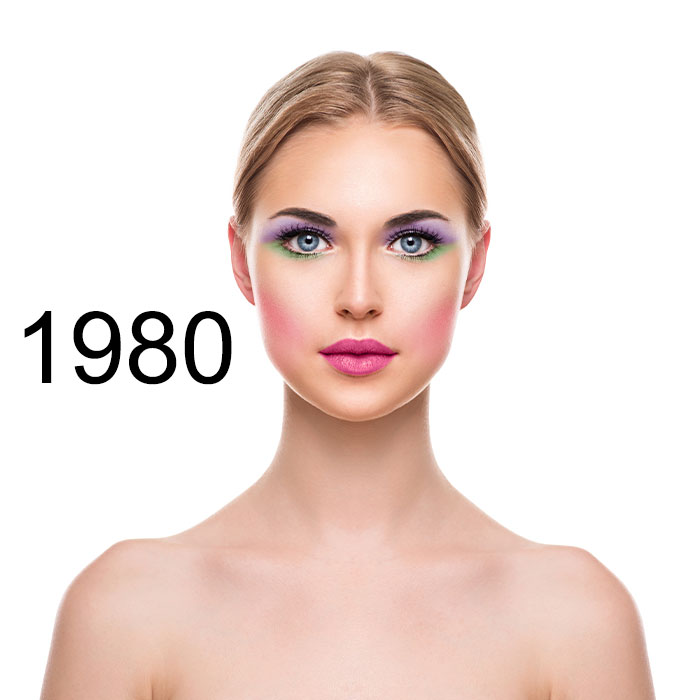 See How Beauty Trends Have Evolved Over The Last 100 Years