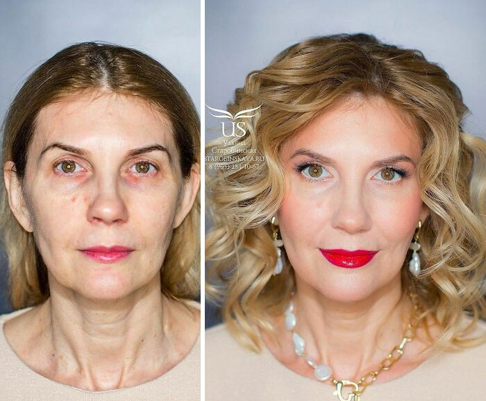30 Before & After Pics Of This Makeup Artist's Clients That Shows The Power Of A Good Makeup Artist