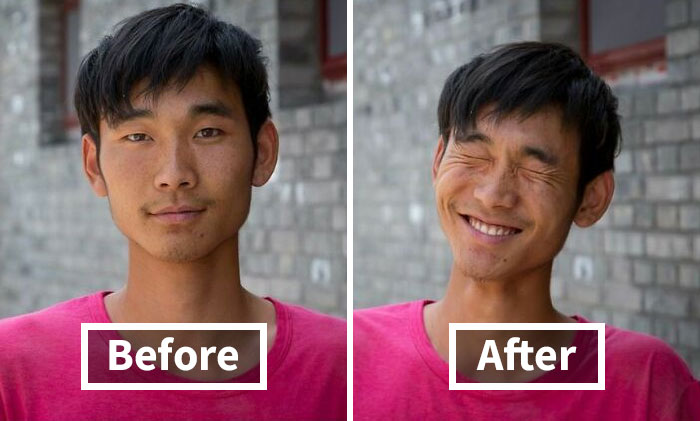 """""""So I Asked Them To Smile"""": 10 Portraits Of Strangers That Show The Power Of Smiling (New Pics)"""