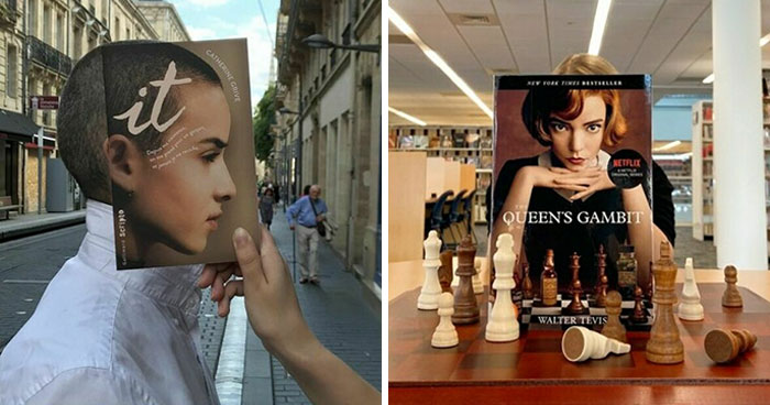 30 Of The Best Responses To The #Bookface Challenge
