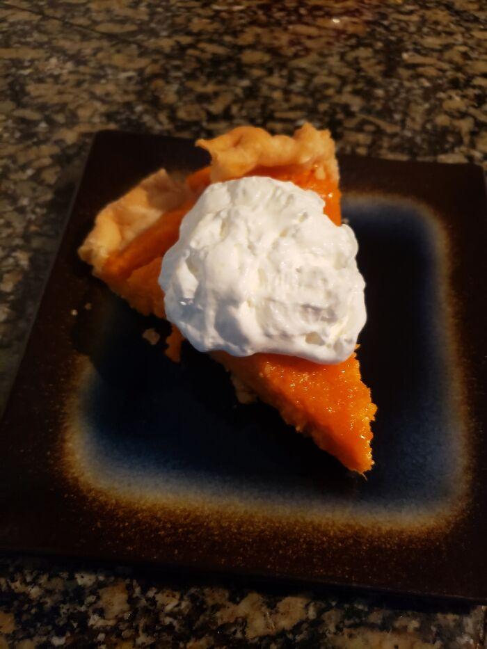 Sweet Garnet Yam Pie