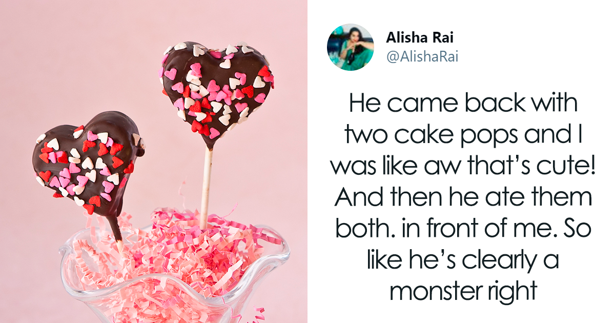 """""""He's Clearly A Monster"""": Man Buys 2 Cake Pops For Himself On First Date, Sparks Debate Online"""