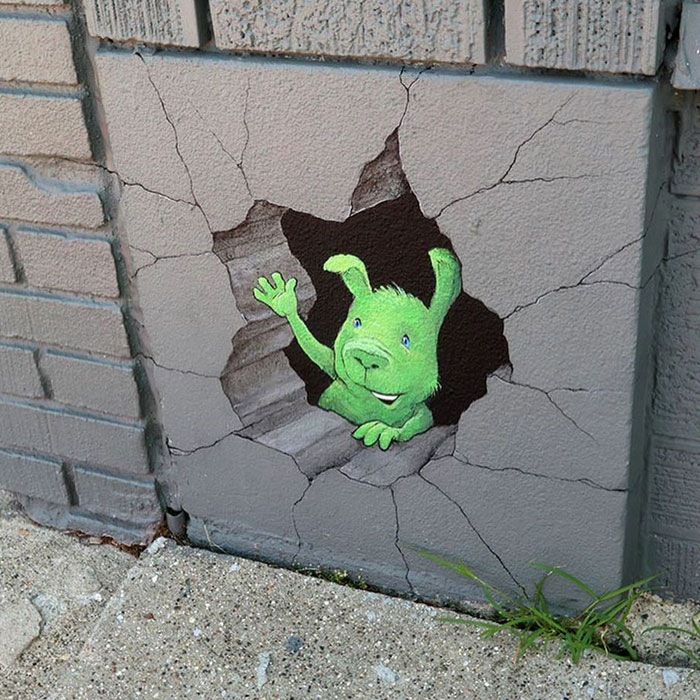 30 Street Art Pieces That Feature Adventures Of Quirky Characters By This Artist (New Pics)