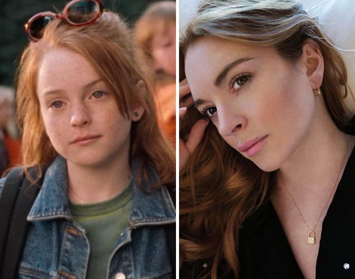 Lindsay Lohan As Annie And Hallie In The Parent Trap (1998)