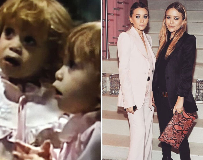 Mary-Kate And Ashley Olsen As Michelle Tanner In Full House (1987-1995)