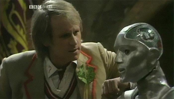 "Til That Doctor Who Briefly Featured Kamelion, An Android Who Was ""Played"" By An Actual Robot. Unfortunately, The Writers Had To Kill The Character Off When The Robot's Inventor, Who Was The Only One Who Knew How To Control It, Died In A Boating Accident."