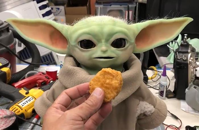 Til In The Months Before His Sudden Death, Former Mythbuster Grant Imahara Built A Fully Animatronic Baby Yoda. Having Spent 3 Months Of His Personal Time Designing, Programming, And 3D Printing The Project, He Intended To Bring It To Hospitals To Cheer Up Sick Children.