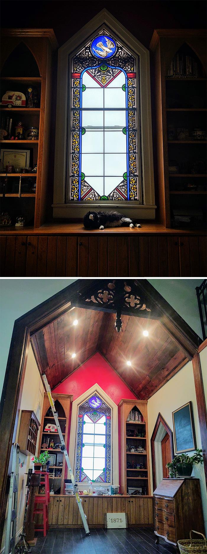 My Home Is A Renovated Episcopal Church That Was Built In 1871