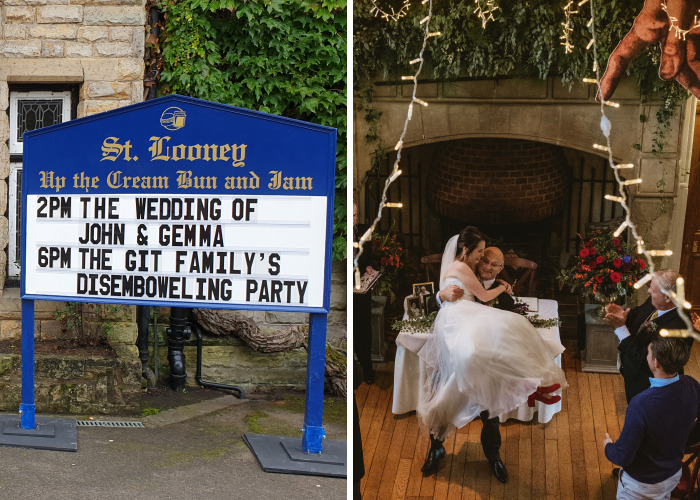 50 Reasons Why Our Wedding Will Always Be The Most Heavily Themed Monty Python Wedding Of All Time