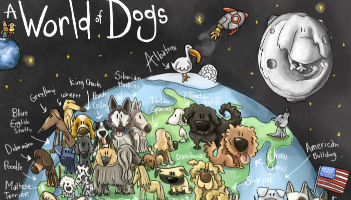 I Started A Collaborative Project Drawing Fan's Dogs, And It Births My Passion For Fan-Driven Puppy Art