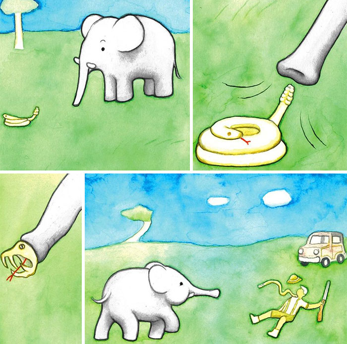 50 More Absurd Dark Humor Comics By 'Perry Bible Fellowship'