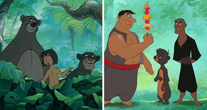 Artist Turns Disney Characters From Animals To Humans And Vice Versa (22 New Pics)