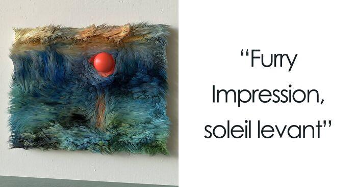 Digital Artist Reimagines Famous Paintings In Fur