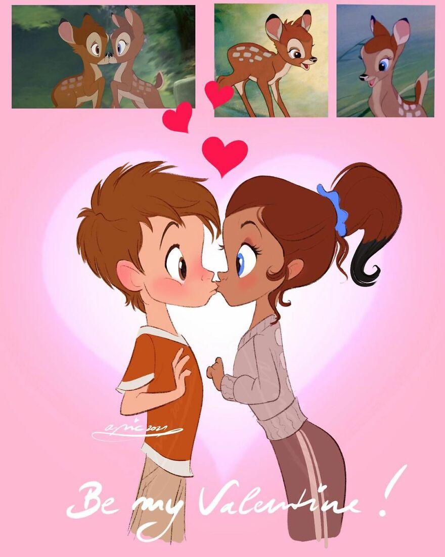 Faline & Bambi