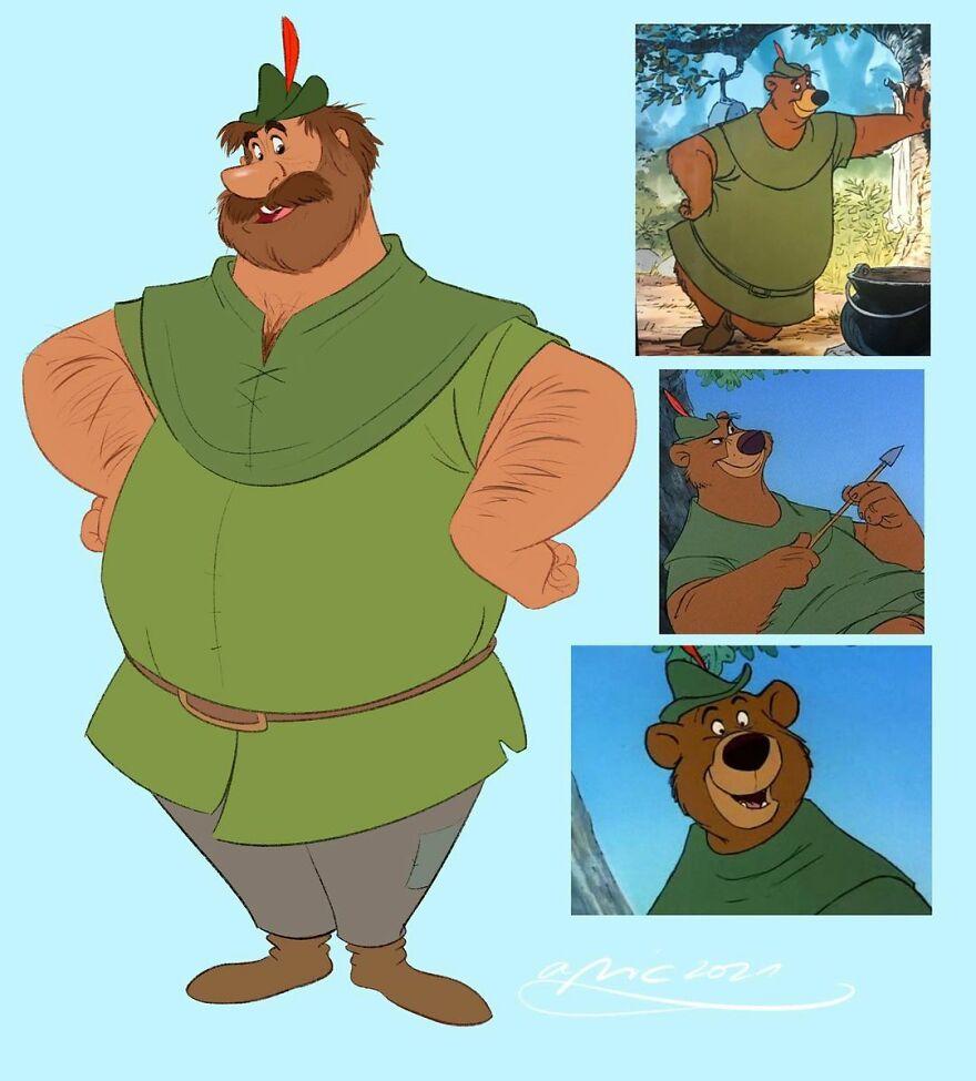 Little John, From Robin Hood