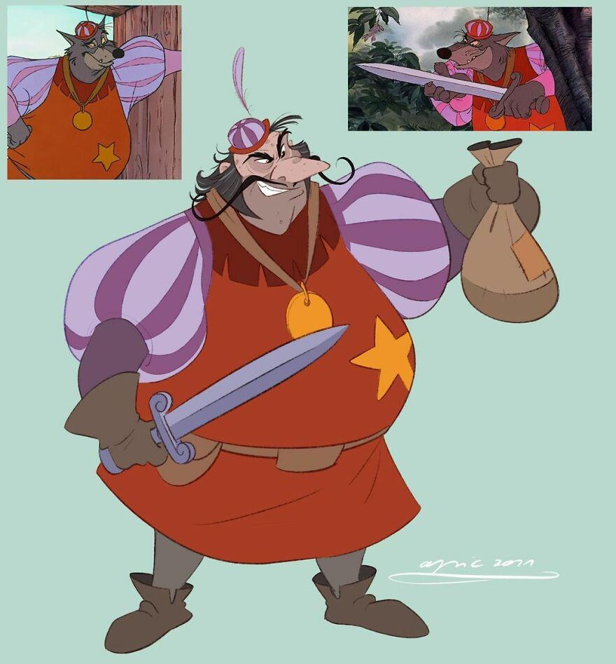 The Sheriff Of Nottingham, From Robin Hood