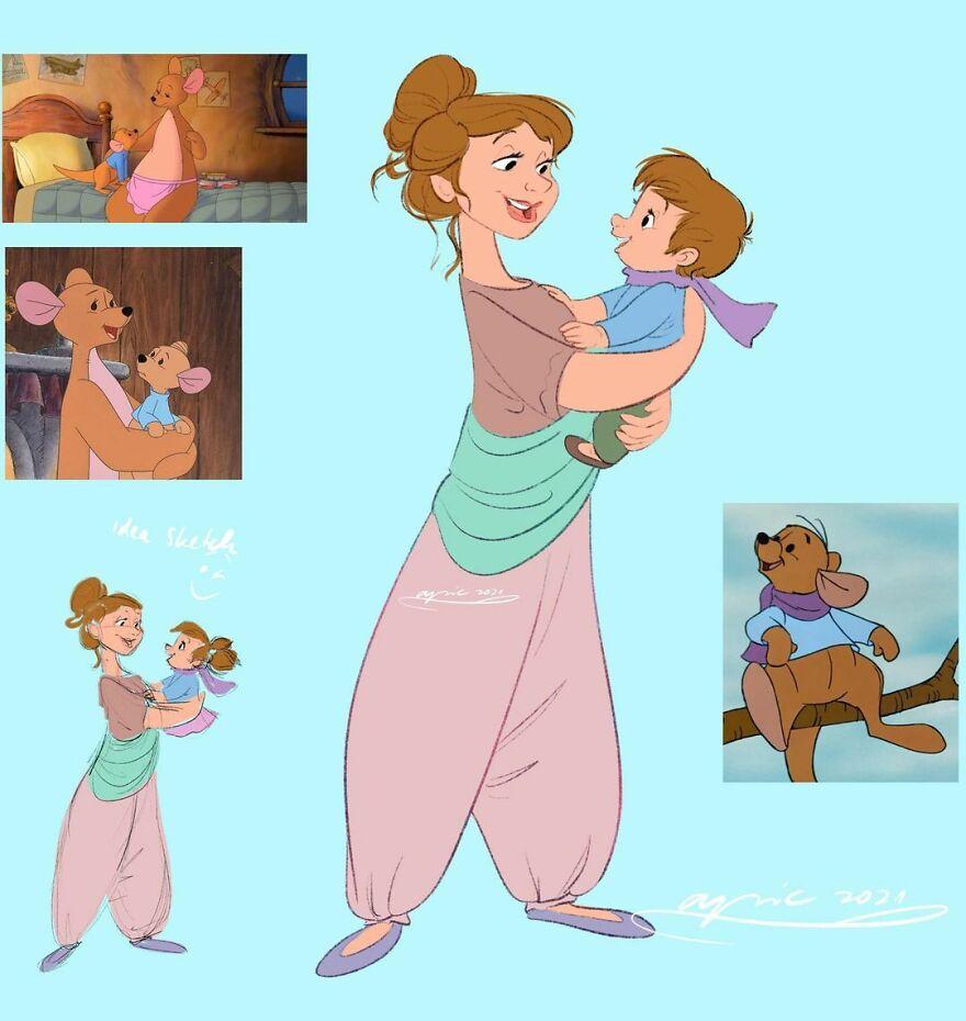 Kanga And Roo, From Winnie The Pooh