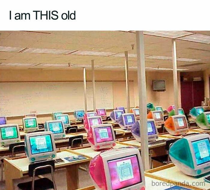 A Late 90s Classroom