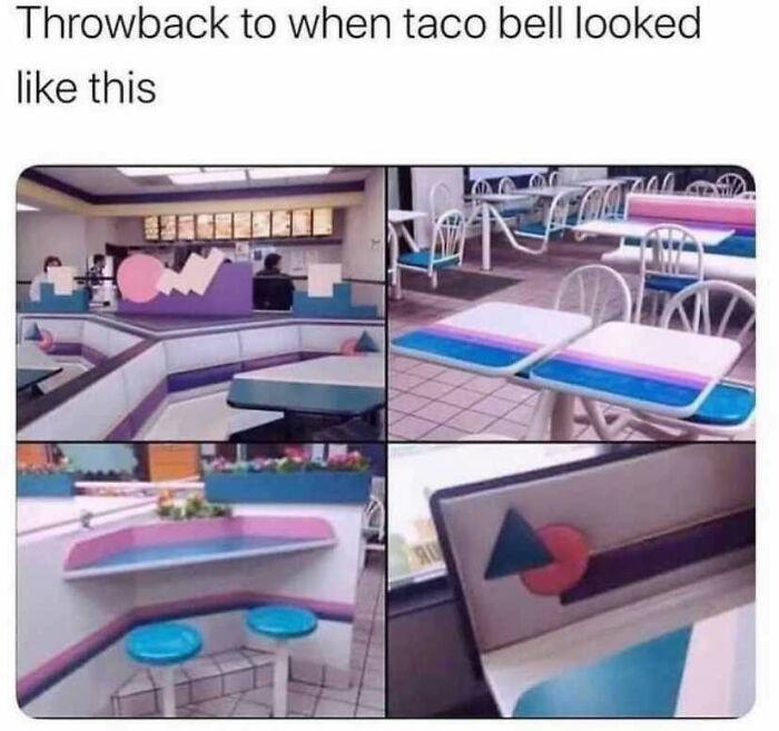 Vintage Taco Bell