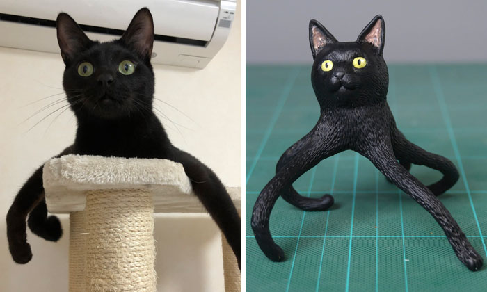 Japanese Artist Turns Hilarious Animal Moments Into Sculptures, And The Result Makes Them Even Funnier (30 New Pics)