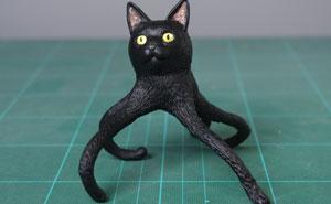 Este artista japonés transforma curiosos momentos de animales en esculturas, y el resultado es divertidísimo (30 fotos nuevas)