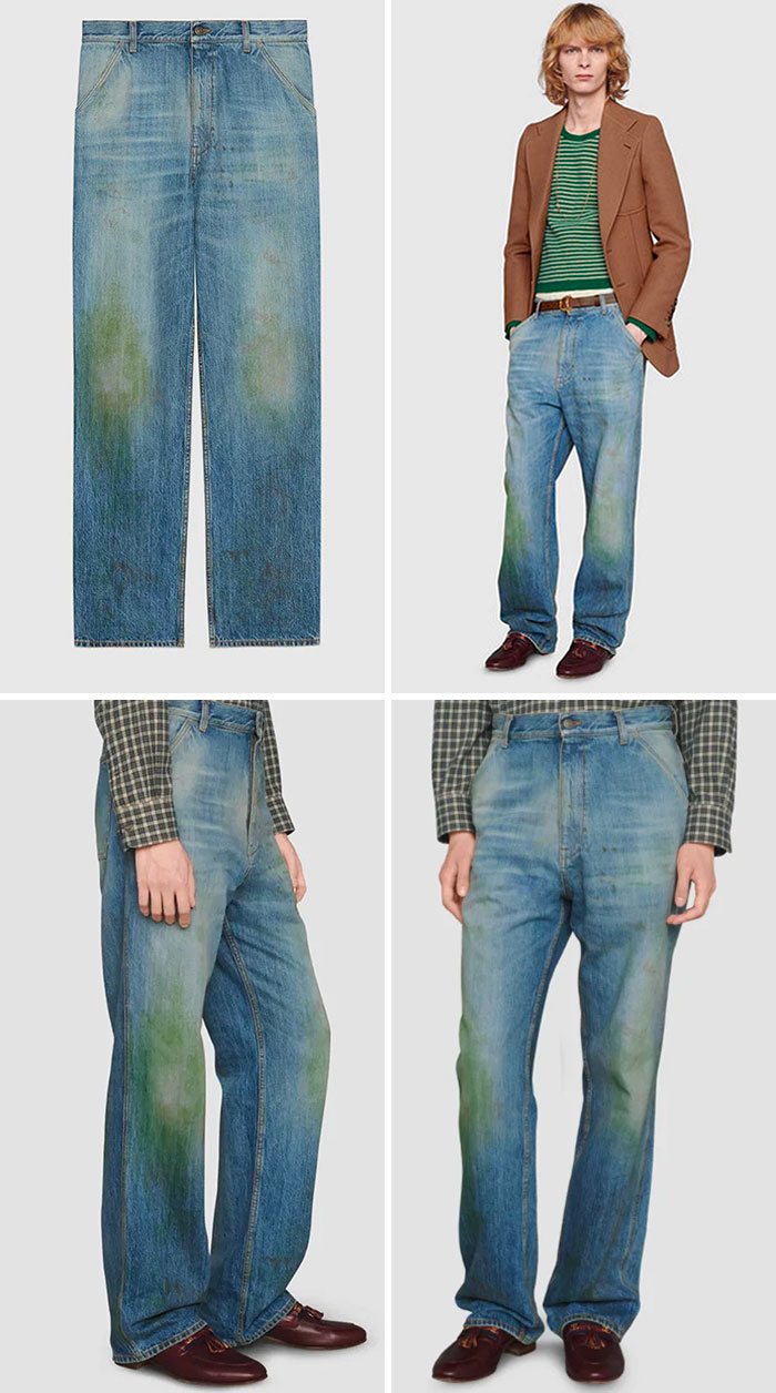 Gucci Sells Jeans With Fake Grass Stains