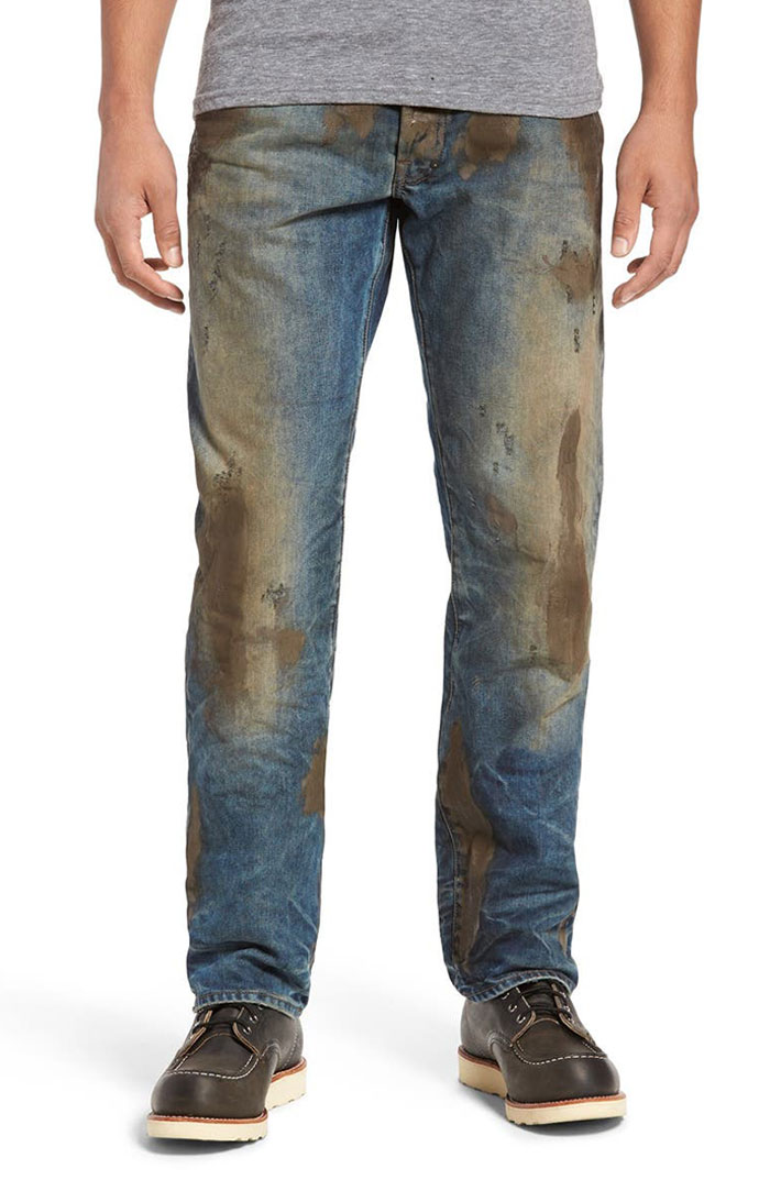 Nordstrom Sells Jeans With Fake Mud On Them For $425