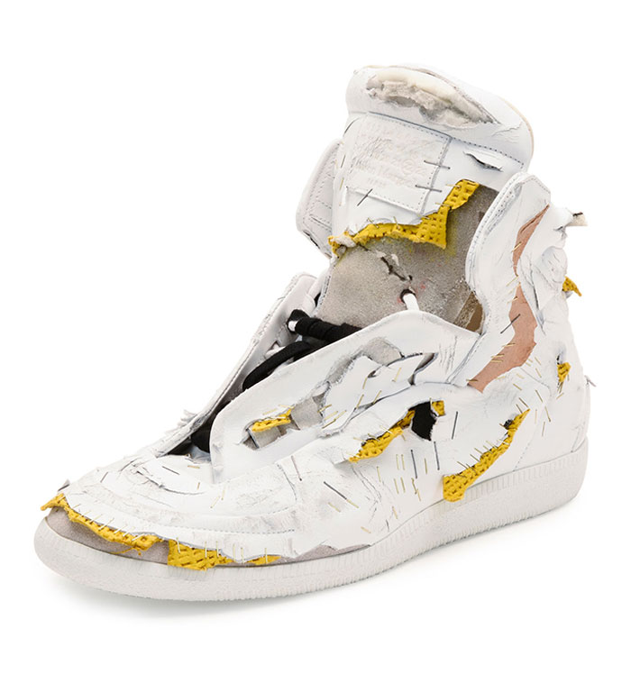 Maison Margiela Pre-Destroyed Sneakers For $1425