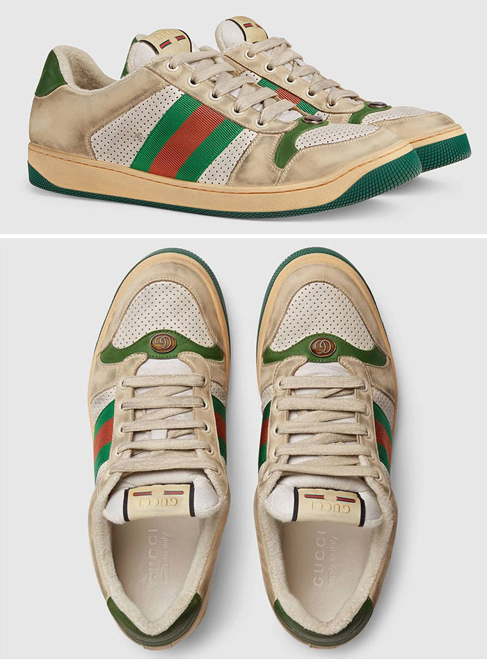These Gucci Shoes Are Intentionally Made To Look Dirty