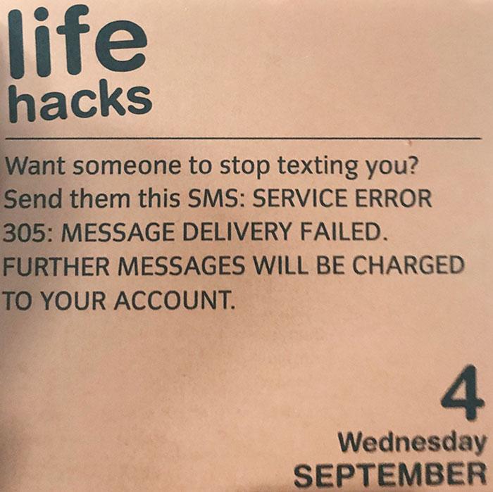 "Finally A Useful ""Life Hack"""