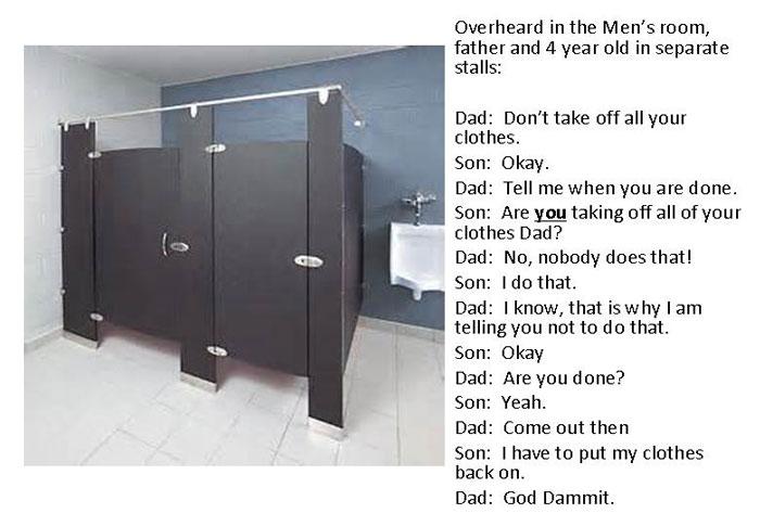 Bathroom Kid