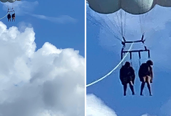 Took Kids Parasailing And They Played Dead