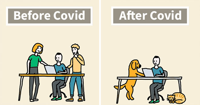 My 22 New Cartoons That Show How COVID-19 Affected Our Lives